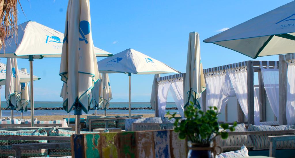 restaurant à la plage